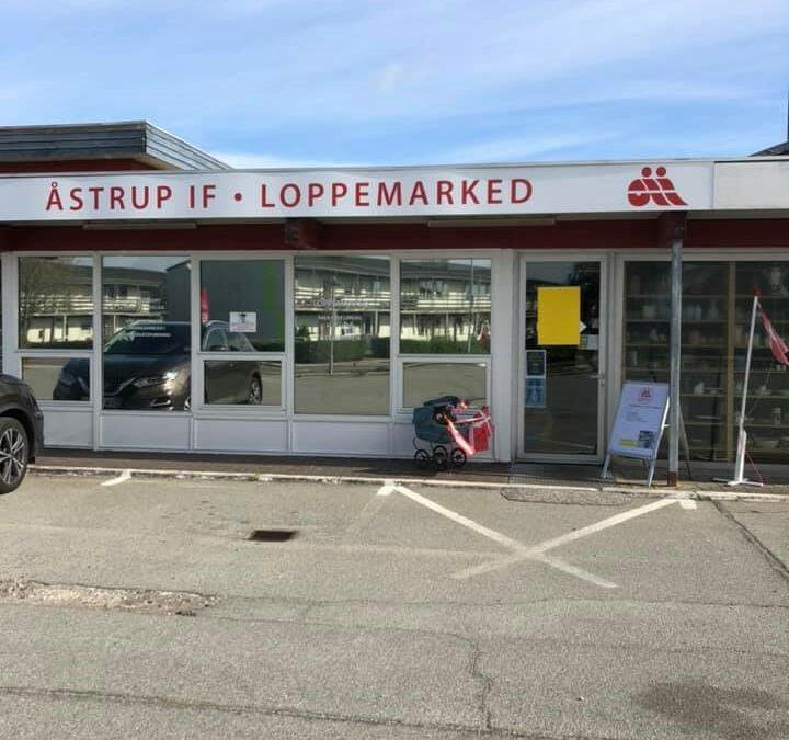 Loppebutikken har åbent i efterårsferien