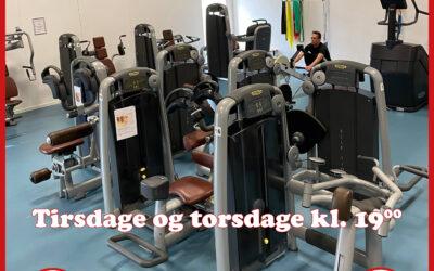 Fitness for unge under 15 år